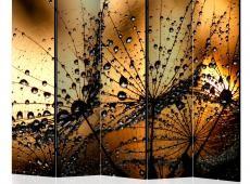 Paraván - Dandelions in the Rain II [Room Dividers]
